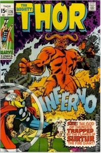 Thor 176 - for sale - mycomicshop