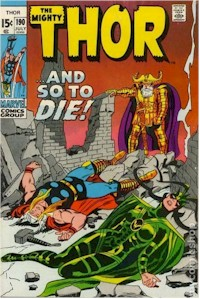 Thor 190 - for sale - mycomicshop