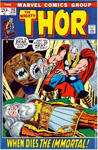 Thor 198 - for sale - mycomicshop