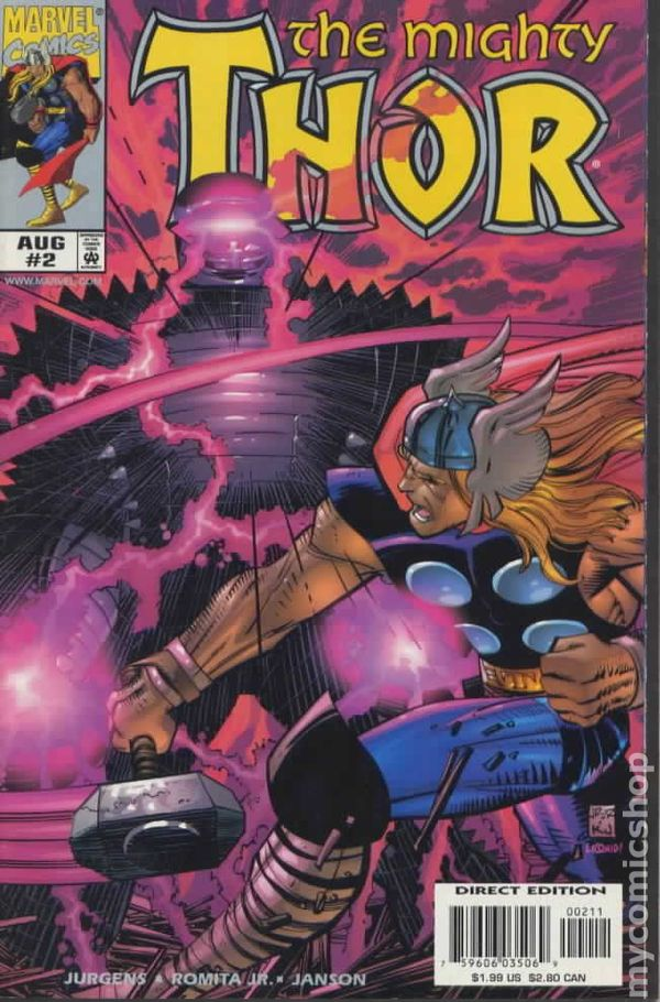 Thor 2 - 1998 - for sale - mycomicshop