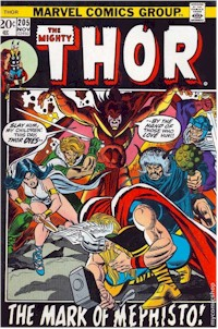 Thor 205 - for sale - mycomicshop