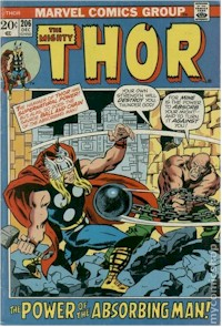 Thor 206 - for sale - mycomicshop