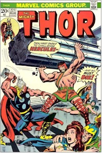 Thor 221 - for sale - mycomicshop