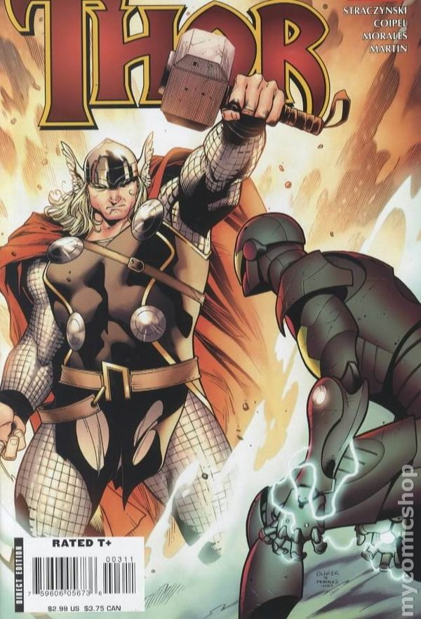 Thor 3 - 2007 - for sale - mycomicshop