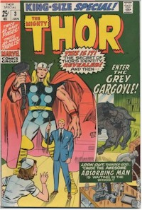 Thor Annual 3 - for sale - mycomicshop