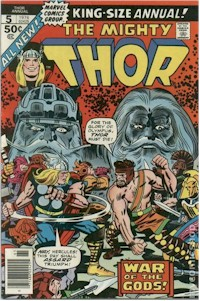Thor Annual 5 - for sale - mycomicshop