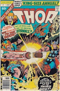 Thor Annual 7 - for sale - mycomicshop