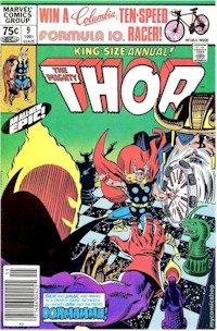 Thor Annual 9 - for sale - mycomicshop