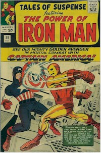 Tales of Suspense 58 - for sale - mycomicshop