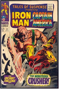 Tales of Suspense 91 - for sale - mycomicshop