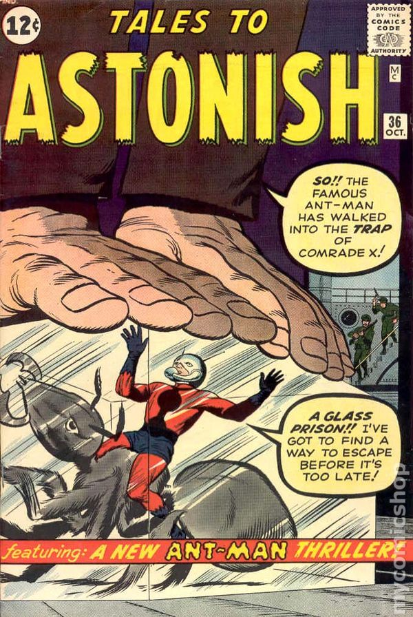 Tales to Astonish 36 - for sale - mycomicshop