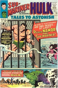 Tales to Astonish 70 - for sale - mycomicshop