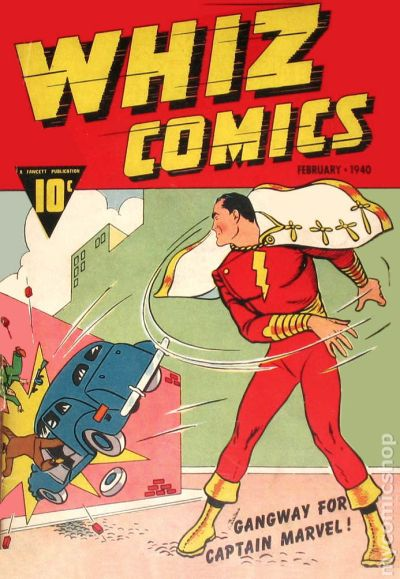 Whiz Comics 1 - for sale - mycomicshop