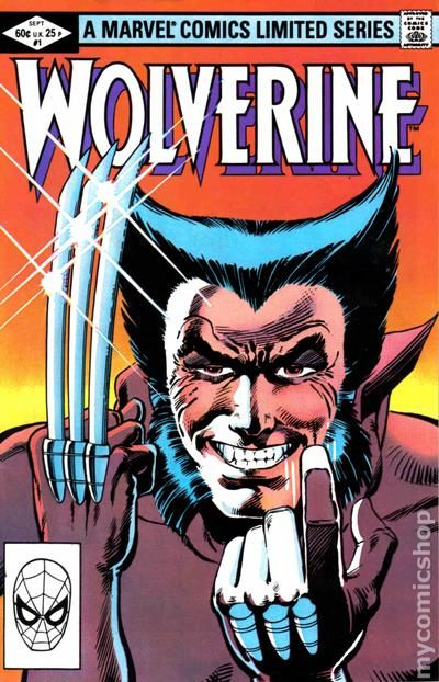 Wolverine 1 - 1982 - for sale - comicshop