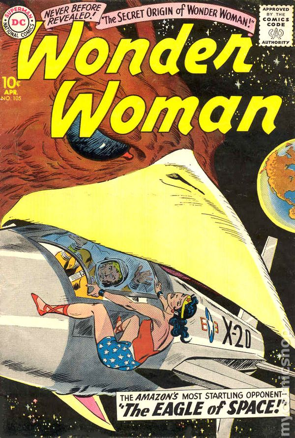 Wonder Woman 105 - for sale - mycomicshop
