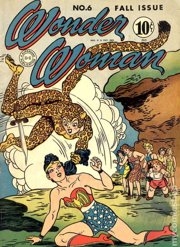 Wonder Woman 6 - for sale - mycomicshop