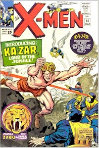 X-Men 10 - for sale - mycomicshop
