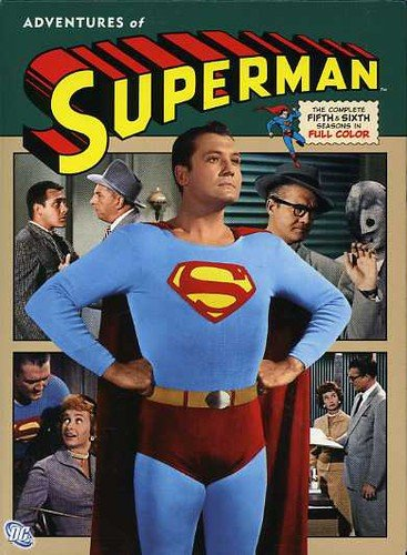 Adventures of Superman - Season Five and Six - DVD