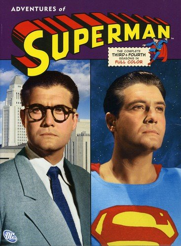 Adventures of Superman - Season Three and Four - DVD