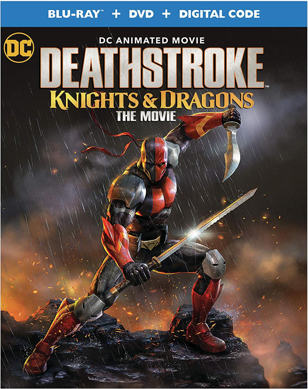 Deathstroke: Knights and Dragons The Movie - Amazon