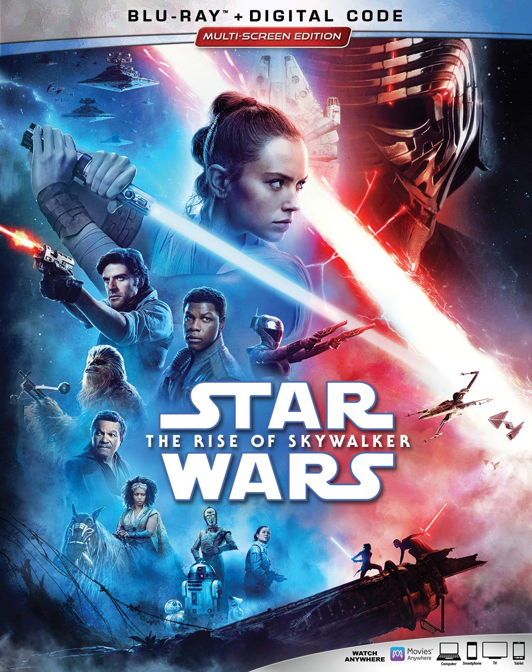 Star Wars The Rise of Skywalker Blu Ray DVD - Amazon
