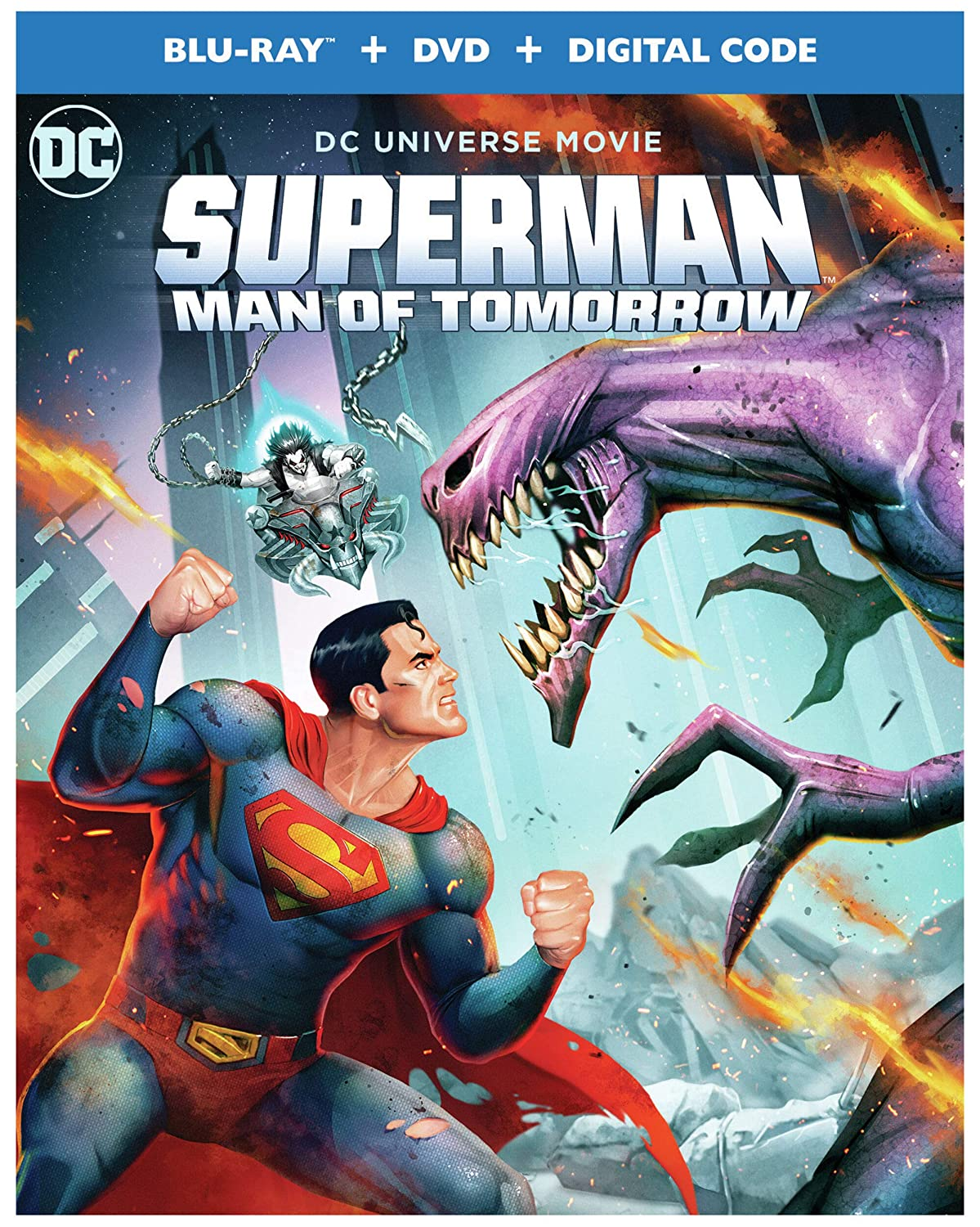 Superman Man of Tomorrow Animated Movie - Amazon