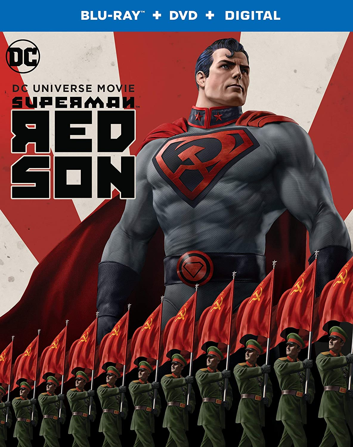 Superman Red Son Movie Blu Ray - Amazon